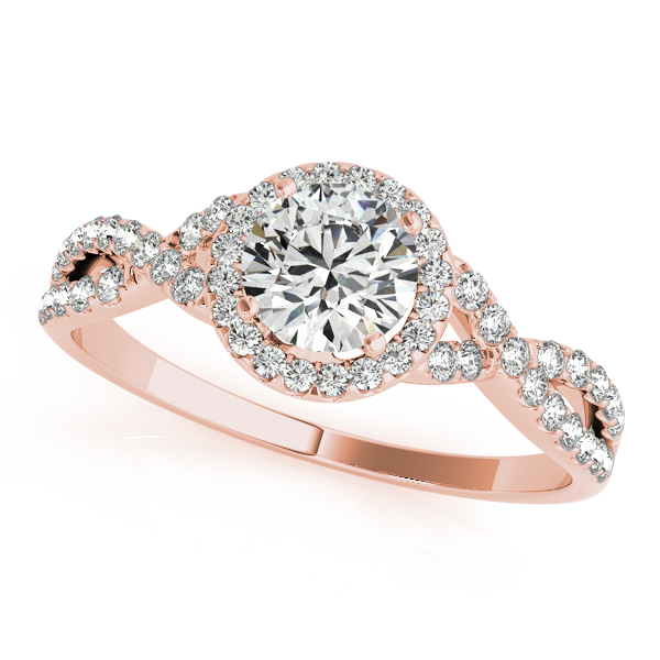 diamond jewellery infinity sg rose build in setmain rings gold engagement ct micropav twist your ring own